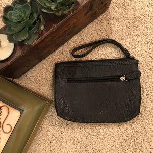 Handbags - Black wristlet clutch